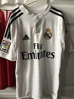 Real Madrid Authentic Home Jersey