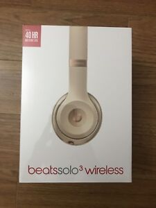Beats by Dre Solo3 UNOPENED