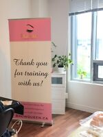 Microblading training in Pickering