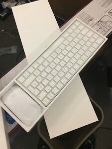 New apple mouse and keyboard
