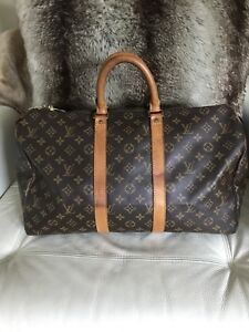 100% Authentic Louis Vuitton Keepall 45