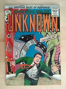 Adventures into the Unknown #73 (June 1956) ACG