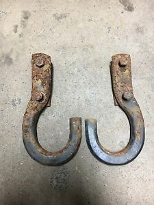 Chevy GMC Tow Hooks
