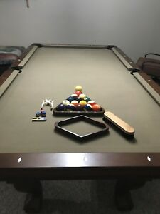Brunswick Pool Table Kijiji In Saskatchewan Buy Sell Save - Brunswick dunham pool table