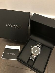 Brand New Movado Watch (Esperanza) Men's
