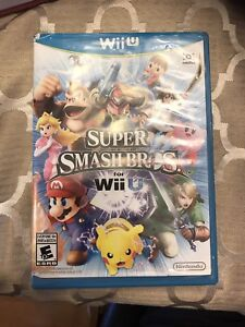 Super smash bros WiiU lightly used in perfect condition