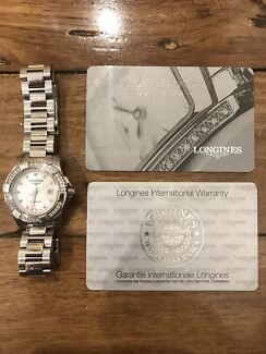 Wanted: LONGINES L: ****0876 Hydro Conquest  Diamond/Steel LADIES WATCH.