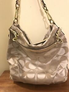 Coach Gold purse