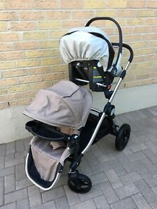 EUC city select with peg perego car seat