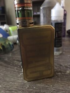 Voopoo gold drag and uforce tank