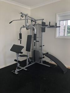 Complete home gym gym & fitness gumtree australia blue