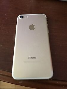 Iphone 7 gold or unlock