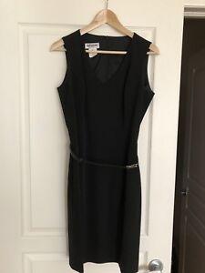 Holt Renfrew classic black cocktail dress