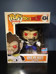 "Funko POP! DragonBallZ Great Ape Vegeta 6"" - NYCC Excl.- MINT"