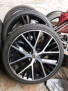 "4X VW golf R genuine 19"" wheels & Bridgestone tyres Chester Hill Bankstown Area Preview"