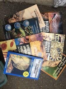 Reptile / Herpetology books