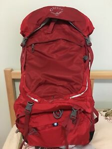 New Osprey stratos backpack 50L size M/L