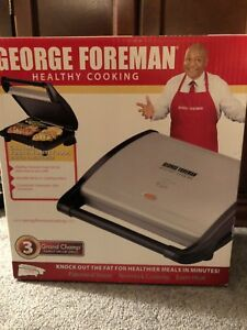 George Forman Grill and Panini Press