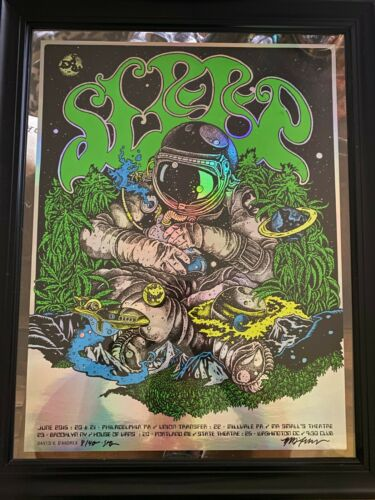 "Sleep ""East 2016"" Foil Tour Poster (S&D) David V. D"