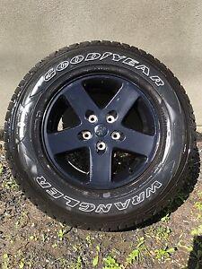 5x tires  245/75/17