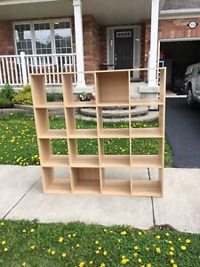 Shelf organizer bookcase / shelving unit from Ikea