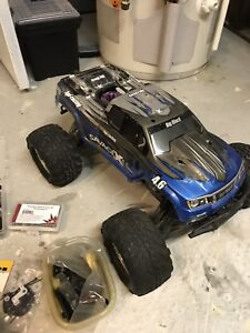 HPI Savage X with tons spare parts for this and other RC's.