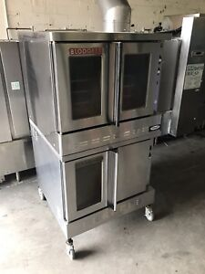 Blodgett gas stackable convection oven both for only $2500