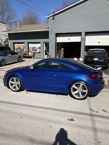2012 Audi TT RS sepang blue all original