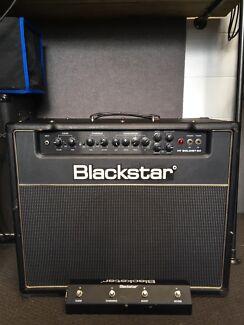 Guitar pickups / Preamp and Blackstar amp