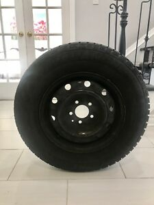 Almost brand new Avalanche X Treme snow 4 Tires with Rims