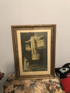 56 year old Dali framed print