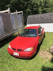 2005 Grand am reduced $1200.00 for sale!!!!!