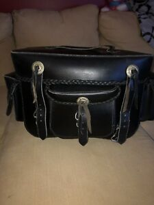Leather Saddlebag - rear