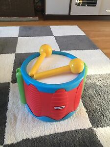 Little tikes piano and drums
