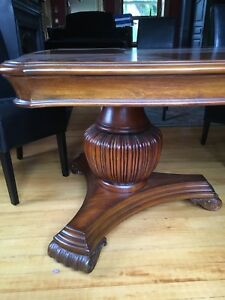 Beautiful pedestal dining table