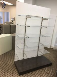 Luxury Display, Shelves, Partition on Wheels (several)