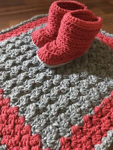 Blanket and booties