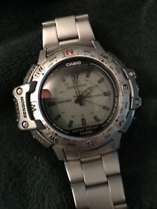 Casio Pathfinder Twincept outdoor watch.