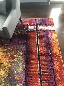 Beautiful Berthoud Yellow Area Rug