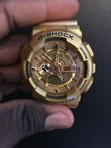 Casio G shock Gold edition
