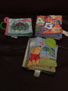 3 baby soft books In good condition