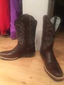 Ariat  leather Cowgirl boots