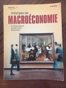 Principes de Macroéconomie Textbook & Study Guide