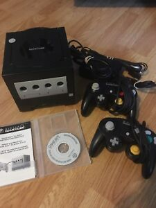 Gamecube consoles and games