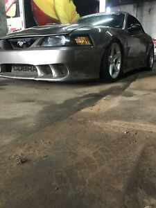 Ford mustang cobra saleen supercharge svt 2001 orginal 6 spd.