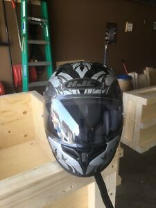 Brand New Unisex Black HJC Helmet Asking $150