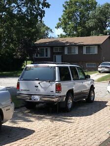 97 Ford Explorer with low km 158000