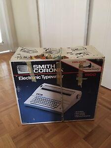 Smith and corona electronic type writer