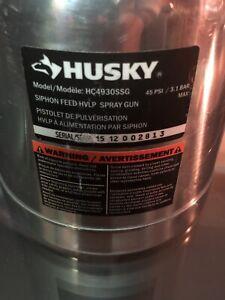 Husky siphon feed HVLP spray gun (model HC4930SSG)