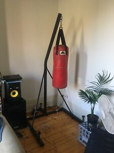Boxing stand & bag